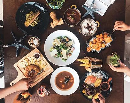 Hook & Cook ramadan meals offers in The Pointe Palm Jumeirah, Dubai