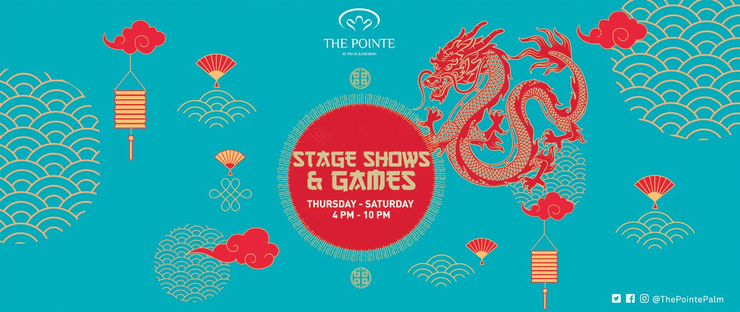 Chinese New Year at The Pointe: 23 to 29 January