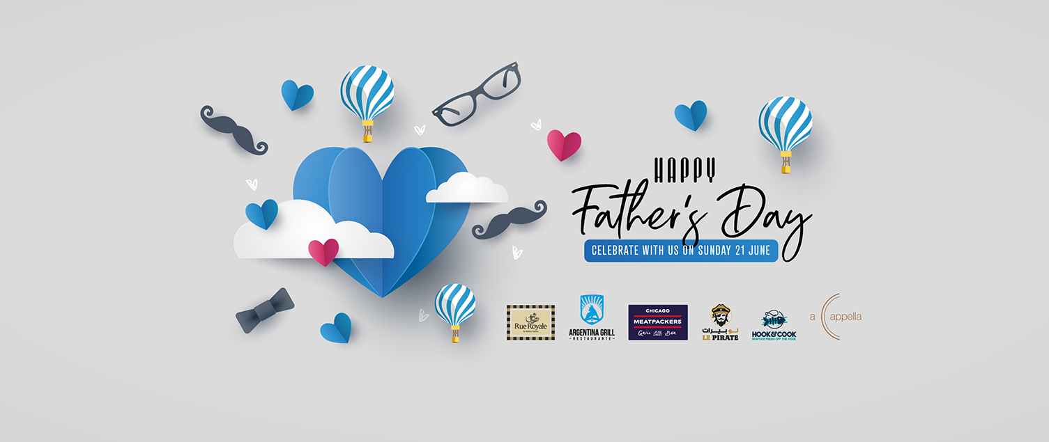 CELEBRATE FATHER'S DAY AT THE POINTE