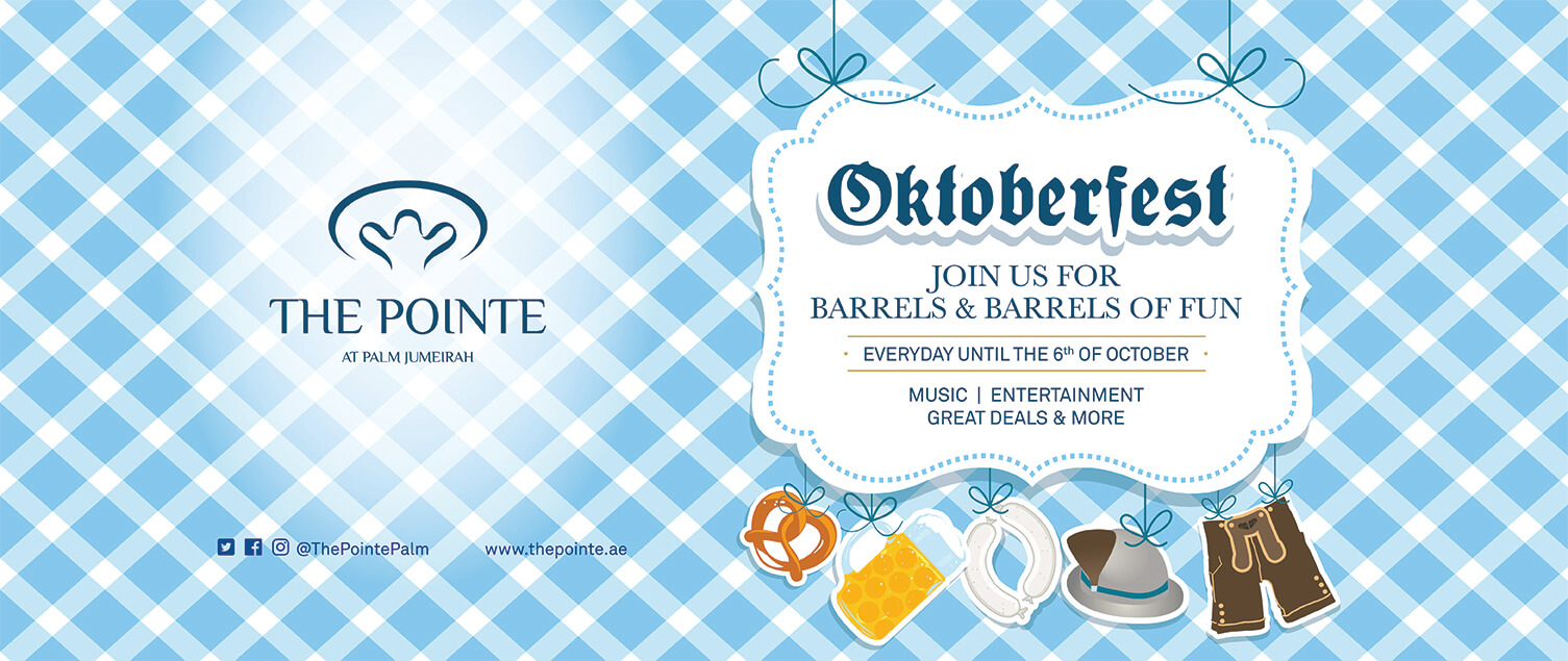 Join us for barrels & barrels of fun at The Pointe Oktoberfest