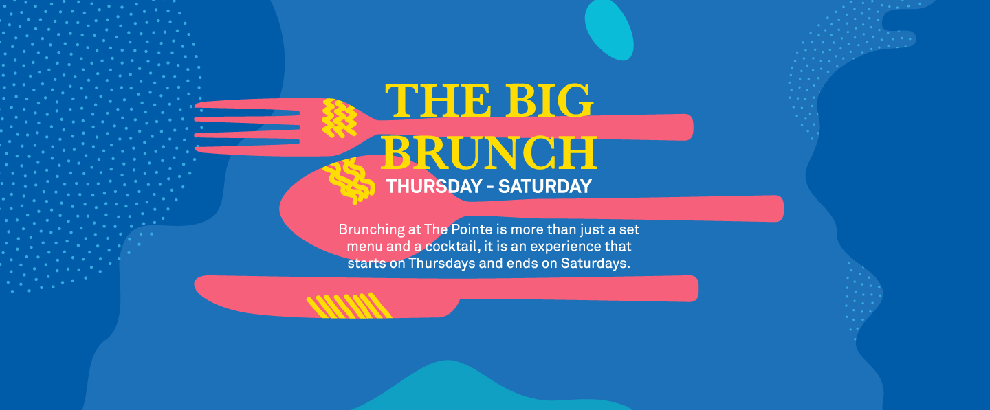 HERE COMES THE BIG BRUNCH!