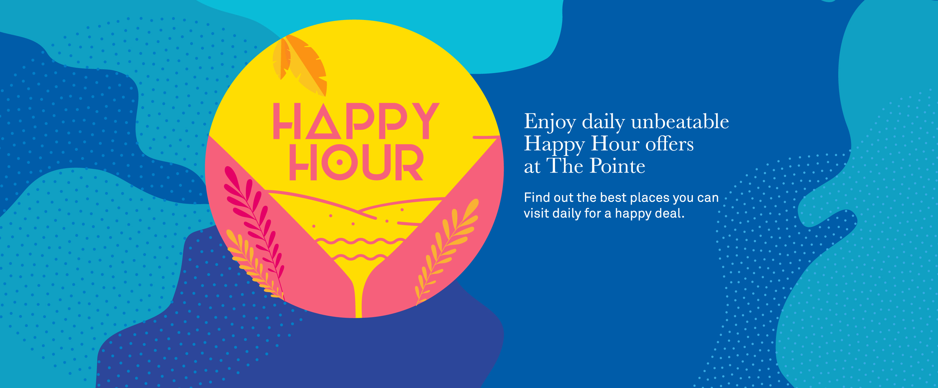 THE POINTE'S DUBAI'S HAPPY HOUR OFFERS ARE ALL YOU NEED TO RELAX