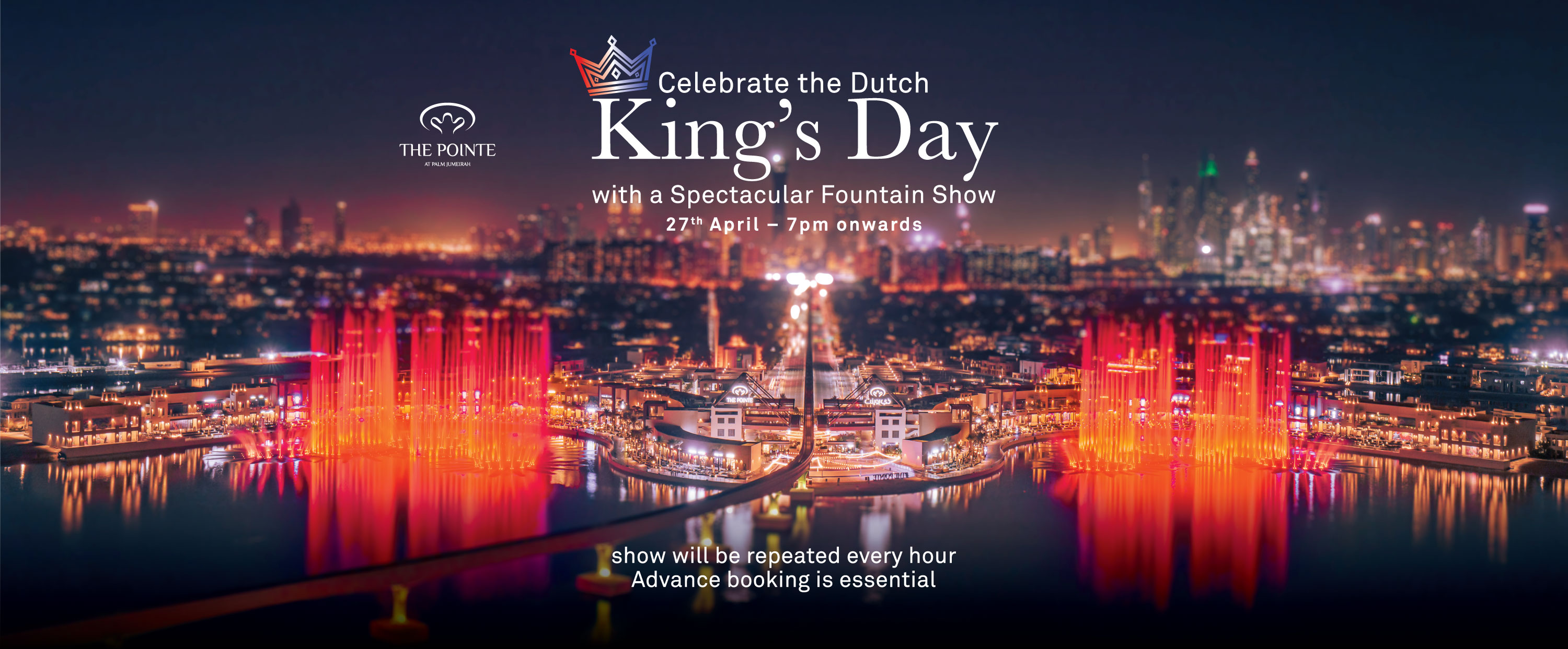 Celebrate King's Day like a royal at The Pointe