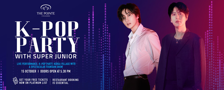 K-POP party with super junior