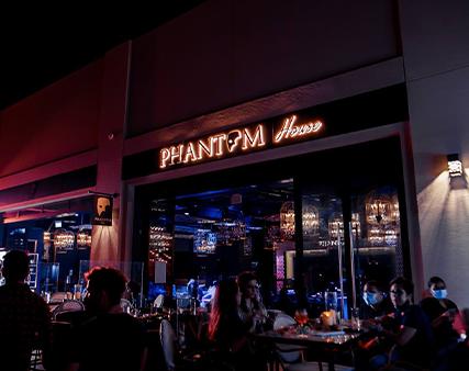 ladies night meal at Phantom House Dubai