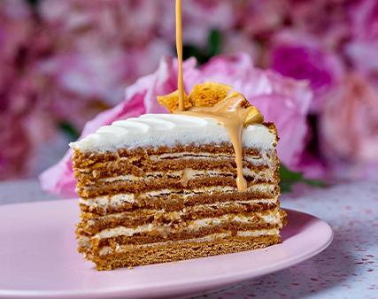 piece of cake at Matroshka ladies night offer in Dubai