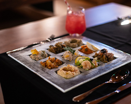 ladies night meal at Le Pirate Dubai