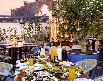 Samakje ramadan meals offers in The Pointe Palm Jumeirah, Dubai