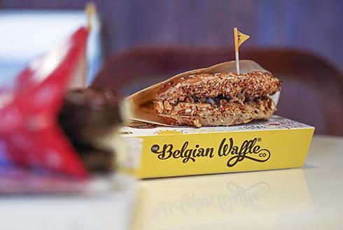 Belgian-waffle-in-Dubai